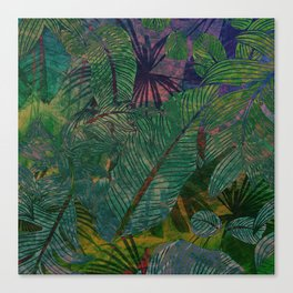 Botanical Sea Canvas Print