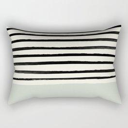 Coastal Breeze x Stripes Rectangular Pillow