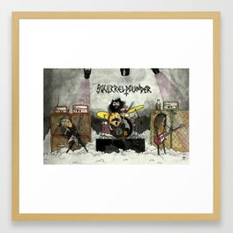 Squirrelpounder Framed Art Print