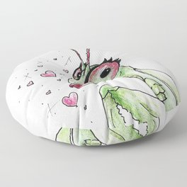 Lady Mantis Floor Pillow