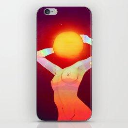 Sun Head iPhone Skin