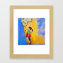 Happy New Year Everyone! Framed Art Print