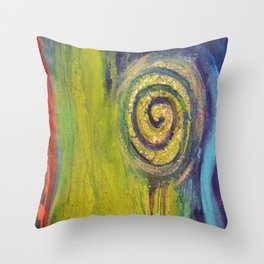 Inner Garden 2 Throw Pillow