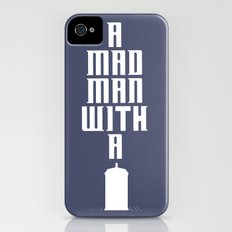 Tardis, Doctor Who - A Mad Man With a Box Slim Case iPhone (4, 4s)