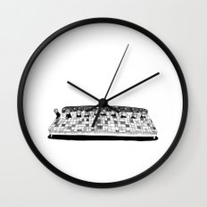 A Long Story Wall Clock