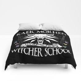 Kaer Morhen Witcher School Comforters