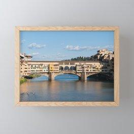 Florence: The Ponte Vecchio Framed Mini Art Print