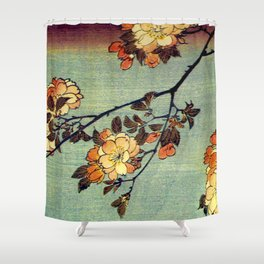 Hiroshige, Springtime In Japan, Thinking Of You Shower Curtain