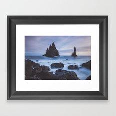 Reynisfjara Framed Art Print