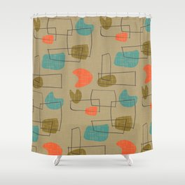 Tinakula Shower Curtain