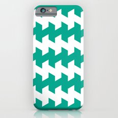 jaggered and staggered in emerald iPhone 6s Slim Case