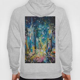 Evening on fifth avenue Hoody