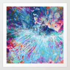 Dragon Erupt Art Print