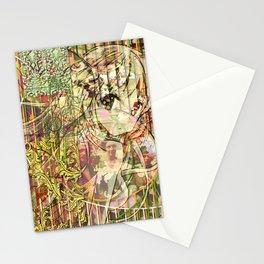 Jeune fille de joie usine (Factory girl joy) Stationery Cards