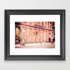 New York is a dream Framed Art Print