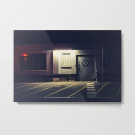 Backdoor Metal Print