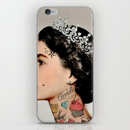 Rebel Queen iPhone Skin
