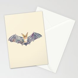 Watercolor Pallid Bat Stationery Cards