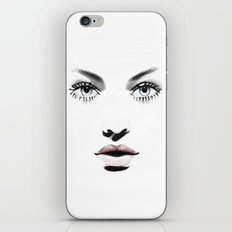 Fashion Illustration - Barbara iPhone & iPod Skin