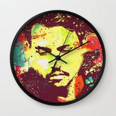 JOHNNY DEEP urban art Wall Clock