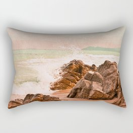evening waves Rectangular Pillow