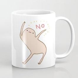 Honest Blob Says No Coffee Mug