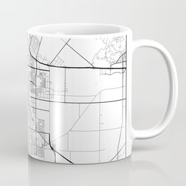 Minimal City Maps - Map Of Oxnard, California, United States Coffee Mug