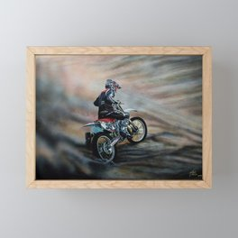 The Race II Framed Mini Art Print
