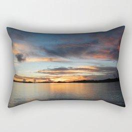 Palau Sunrise Rectangular Pillow