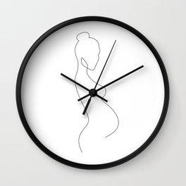 Belly Wall Clock