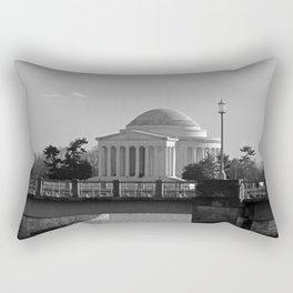 Jefferson Memorial on Christmas 2017 Rectangular Pillow
