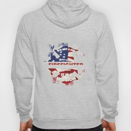 Firefighting Firetruck Fireman Fire Prevention Flames It's Not A Job Firefighter Gift Hoody