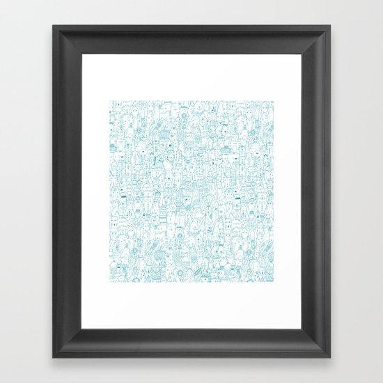The farmer Framed Art Print