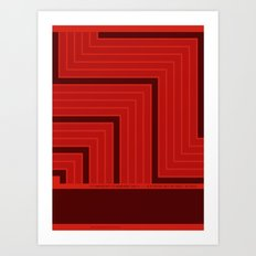 A Grid is a System Art Print
