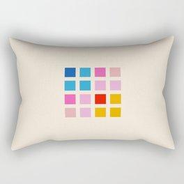 Retro Squares 01 Rectangular Pillow