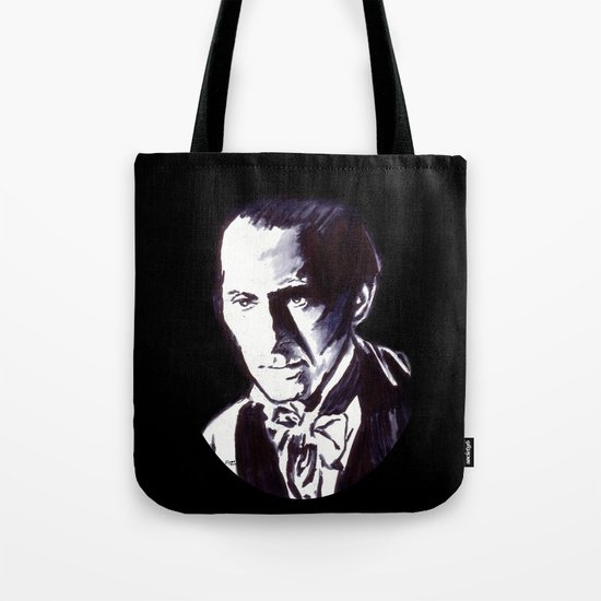 The Gentle Man of Horror Tote Bag