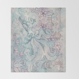Kitsune Throw Blanket