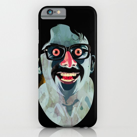 Portrait of Alonso Quijada iPhone & iPod Case