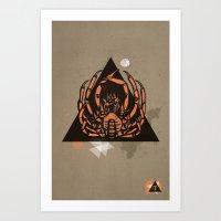Seafood Delight Art Print
