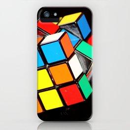 Rubik's cube iPhone Case