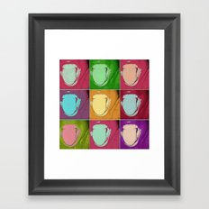 licks Framed Art Print