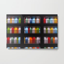 One Night in Apartment 2B Color Photographic Print Metal Print