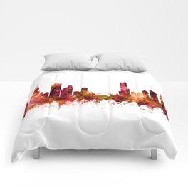 Chicago Illinois Skyline Comforters