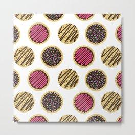 Mixed Cookies Metal Print