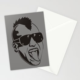 PUNK FACE  Stationery Cards
