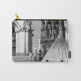 Notre Dame Roofscape Carry-All Pouch
