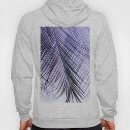 Palm Leaves On A Violet Background #decor #society6 #buyart Hoody