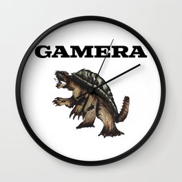 gamera Wall Clock