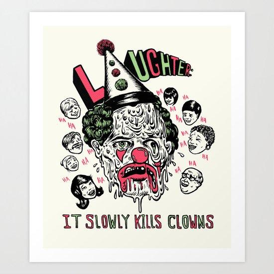 Laughter.. Art Print