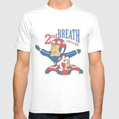Second Breath Mens Fitted Tee MEDIUM White